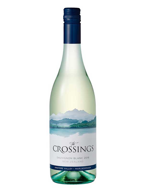 The Crossings Sauvignon Blanc Atwatere Valley, Marlborough 750ML Bottle