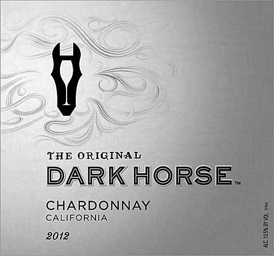 The Original Darkhorse Chardonnay 2012 750ML Label