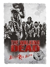 The Walking Dead Blood Red Blend 2015 750ML Label