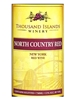 Thousand Islands Winery North Country Red Alexandria Bay NV 750ML Label