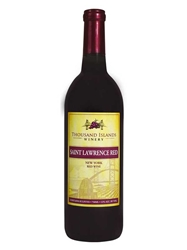 Thousand Islands Winery Saint Lawrence Red Alexandria Bay NV 750ML Bottle