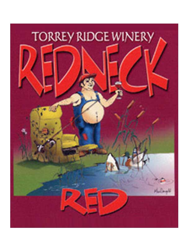 Torrey Ridge Winery Red Neck Red NV Finger Lakes 750ML Label