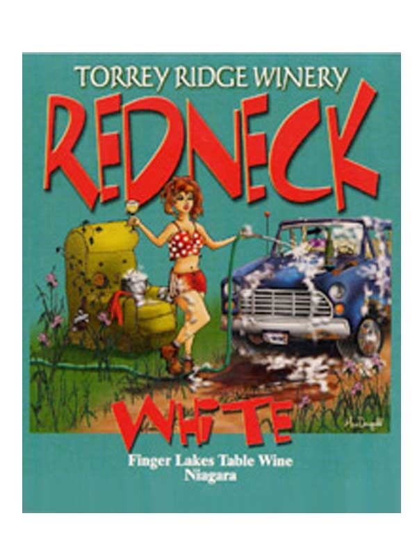 Torrey Ridge Winery Red Neck White NV Finger Lakes 750ML Label
