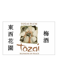 Tozai Blossoms of Peace Plum Sake NV 720ML Label