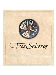 Tres Sabores Petite Sirah Calistoga Napa Valley 750ML Label