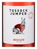 Tussock Jumper Moscato Rose 750ML Label