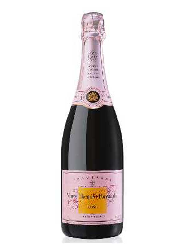Veuve Clicquot Brut Rose Champagne NV 750ML Bottle