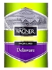 Wagner Vineyards Delaware Finger Lakes 750ML Label