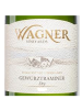 Wagner Vineyards Dry Gewurztraminer Finger Lakes 750ML Label