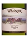 Wagner Vineyards Dry Riesling Finger Lakes 750ML Label