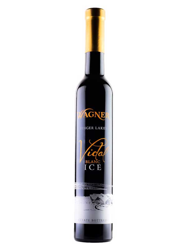 Wagner Vineyards Vidal Ice Wine Finger Lakes 375ML Half Bottle Bottle