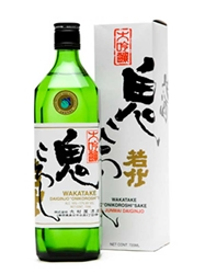 Wakatake Onikoroshi Junmai Daiginjo Super Demon Slayer Sake 720ML Bottle