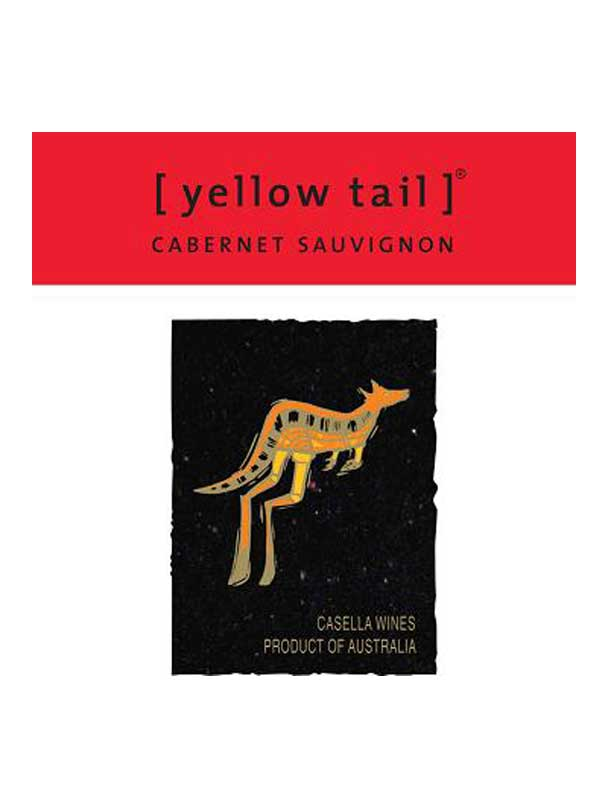 Yellow Tail Cabernet Sauvignon South Eastern Australia 750ML Label