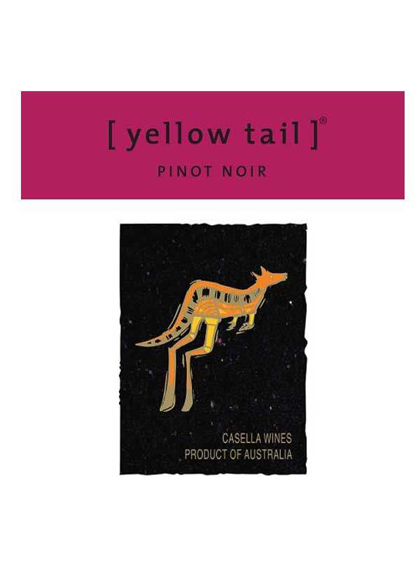Yellow Tail Pinot Noir South Eastern Australia 2013 750ML Label
