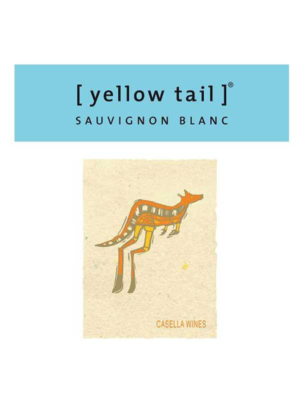 Yellow Tail Sauvignon Blanc NV 750ML Label