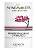 Zonin Winemaker's Collection Montepulciano D'Abruzzo 750ML Label