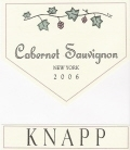Knapp Winery Cabernet Sauvignon Finger Lakes 750ML