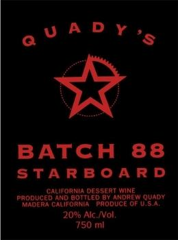 Quady Batch 88 Starboard Red Blend NV 750ML - 964034205