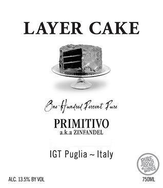 Layer Cake Primitivo Puglia 2011 750ML - 9780225