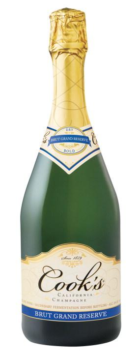 cook 39 s brut grand reserve california champagne nv 750ml
