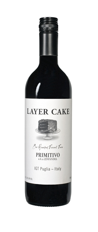 Layer Cake Primitivo Puglia 2011 750ML