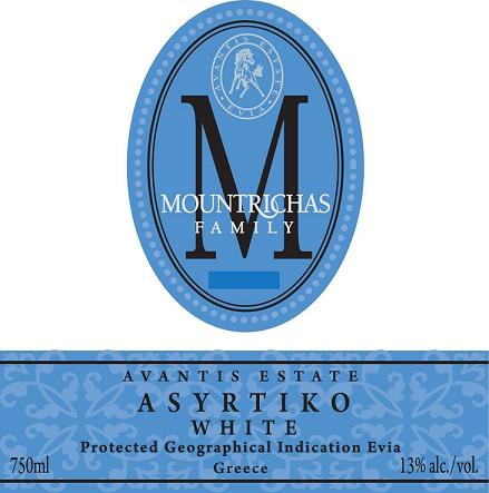 Avantis Estate Assyrtico 2010 750ML