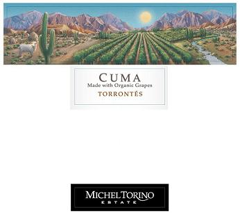 Michel Torino Cuma Torrontes Cafayate Valley 2013 750ML - 96159235