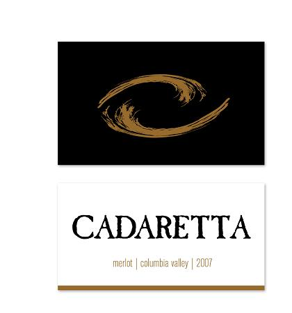 Cadaretta Merlot Columbia Valley 2007 750ML - 9123326