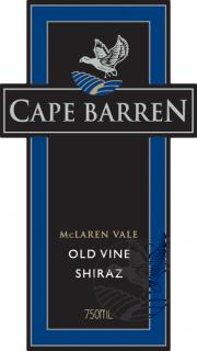 Cape Barren Shiraz Old Vine McLaren Vale 2004 750ML - 9532200041