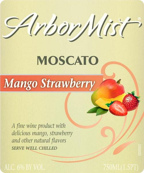 Arbor Mist Mango Strawberry Moscato NV 750ML - 99309580