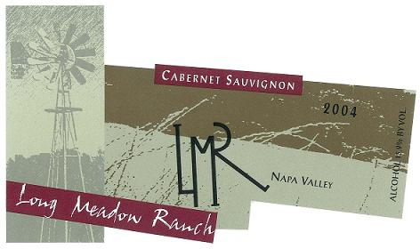 Long Meadow Ranch Cabernet Sauvignon Napa Valley 2004 750ML - 9183034