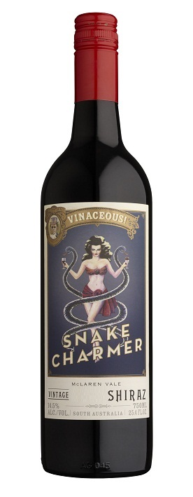 Vinaceous Snake Charmer Shiraz McLaren Vale 2013 750ML Bottle