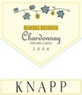 Knapp Winery Chardonnay Reserve Finger Lakes 750ML