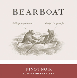 Bearboat Pinot Noir Russian River Valley 2008 750ML - 989122023