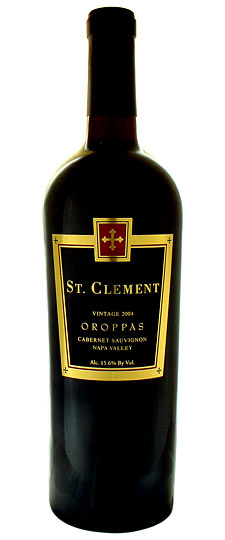 St. Clement Cabernet Sauvignon Oroppas Napa Valley 2012 750ML Bottle