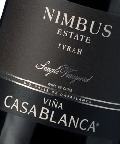 Vina Casablanca Syrah Nimbus Estate 2007 750ML