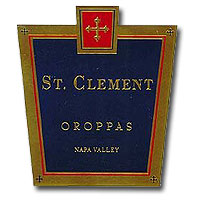 St. Clement Cabernet Sauvignon Oroppas Napa Valley 2012 750ML Label