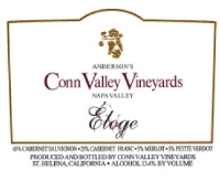 Anderson's Conn Valley Eloge Proprietary Red Napa Valley 1999 750ML - 961465045