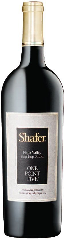 Shafer Vineyards One Point Five Cabernet Sauvignon Napa Valley Stags Leap District 2012 750ML Bottle