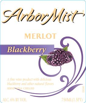 Arbor Mist Blackberry Merlot NV 750ML - 99074331
