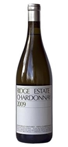Ridge Estate Chardonnay Santa Cruz Mountains 2009 750ML