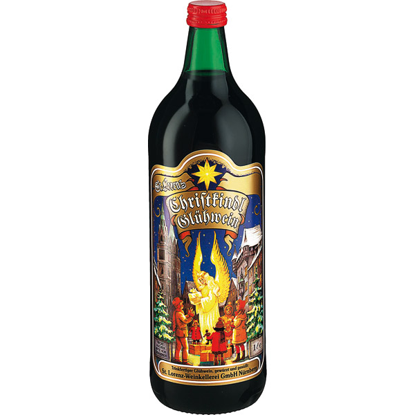 Christkindl Gluhwein Red Spiced Wine 1 Liter
