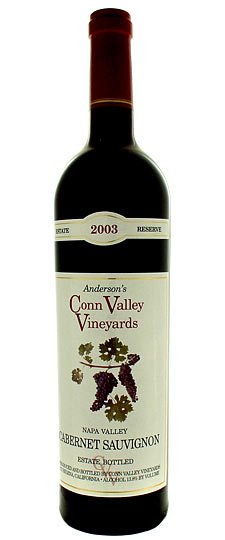 Anderson's Conn Valley Cabernet Sauvignon Reserve Napa Valley 2006 375ML Half Bottle