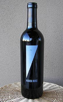 Hidden Ridge Cabernet Sauvignon Sonoma 2003 750ML