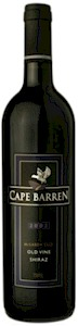 Cape Barren Shiraz Old Vine McLaren Vale 2004 750ML