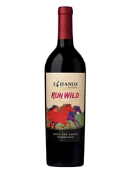 14 Hands Run Wild Juicy Red Blend Columbia Valley 750ML Bottle
