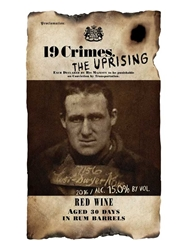 19 Crimes The Uprising Red Wine Aged 30 Days in Rum Barrels South Eastern Australia 750ML Label