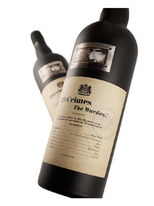 19 Crimes The Warden South Eastern Australia 2015 750ML Bottle