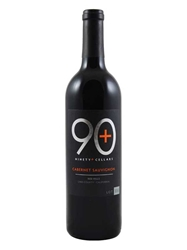 Ninety Plus (90+) Cellars Cabernet Sauvignon Lot 116 Red Hills, Lake County 750ML Bottle