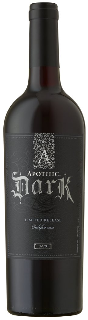 Apothic Dark Red Blend Limited Release 2013 750ML Bottle